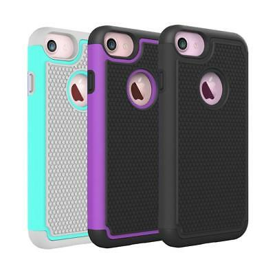 Fits iPhone 8 Case Rugged Impact Hybrid Dual Layer Durable Shockproof Hard Cover