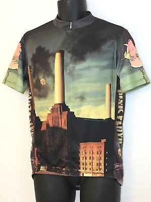 7e3a98281 PRIMAL WEAR PINK Floyd Animals Cycling Jersey Men s with DeFeet ...