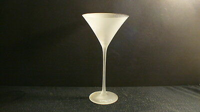 Belvedere Vodka Tall Frosted Martini Glass Cold Activated Spectre 007 - 1