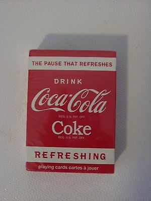 Coca Cola Coke Playing Cards 2010 - The Pause That Refreshes
