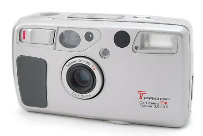 Ex+++++ Kyocera T Proof Yashica T5 (T4 Super) 35mm f/3.5 Zeiss Lens from Japan