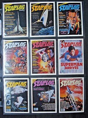 1993 Lime Rock *starlog* Sci-Fi Mag. Complete 100 Card Base Set + 6 Checklists