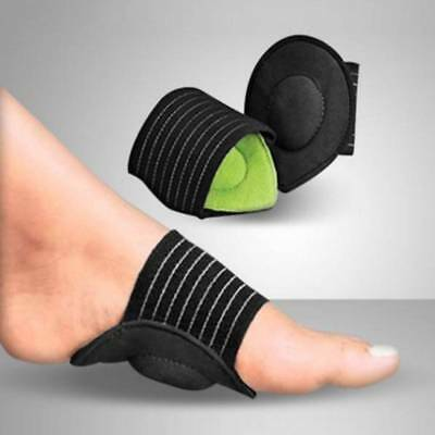 Foot Heel Pain Relief Plantar Fasciitis Insole Pads Arch Support Shoes Insert LJ