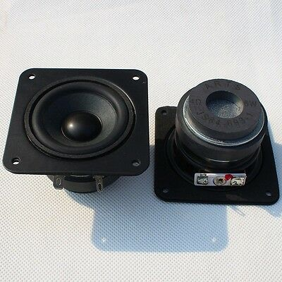 1pcs free shipping 2-inch dual magnetic full-range speakers 4 Ohm 6W for diy