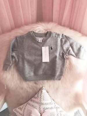 Ralph Lauren Baby Boy BNWT Fleece Jumper