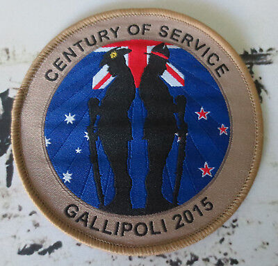 Australia & New Zealand Army Corps - Remembrance Day - Century of Service Patch