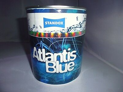 Atlantis Blue, Standox Exclusive Line Lack, 1 Liter