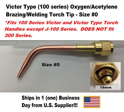 SÜA Welding Nozzle 1-W-1 Compatible with 100 Series Victor torches #1