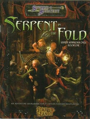 THE SERPENT IN THE FOLD. Serpent Amphora Book One - SWORD SORCERY ed. White Wolf