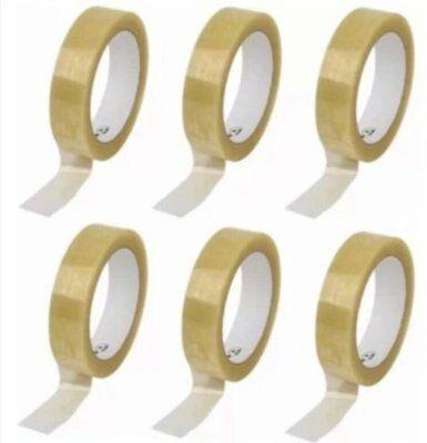 12 pack of Clear Packing Tape Strong Quality Tape 24mm x 40mm