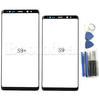 For Samsung Galaxy S9 S9 Plus Front Outer Screen Cover Glass Lens Tool Kits NEW