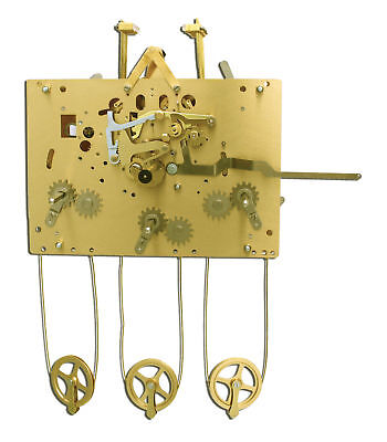Hermle 1161-853 114cm Triple Chime Grandfather Clock Movement NEW! FREE SHIP!