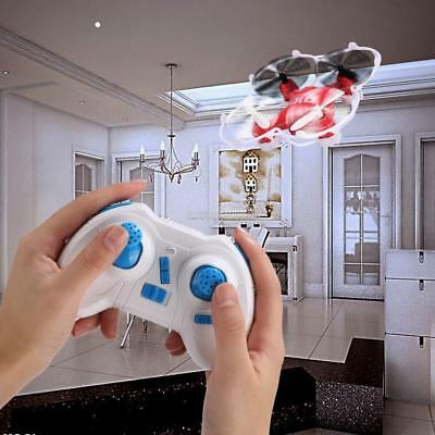 Mini RC Quadcopter 4CH 2.4GHz 6-Axis Gyro LED Headless CF Mode Drone US Stock 03