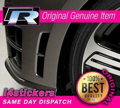 Volkswagen VW Golf R MK7 Gloss Black Vinyl Bumper Vent Decals Insert Stickers