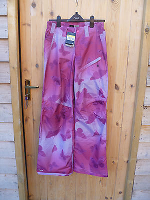 Nike Acg Pink Geometric Butterfly Fit Storm Baggy Fit Ski Board Pants S Xl New