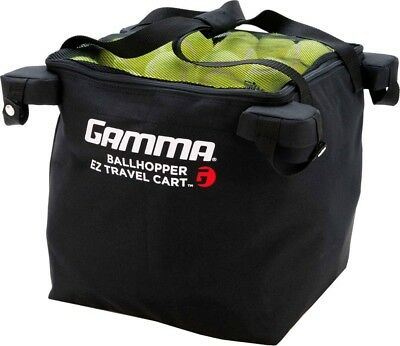 Tennis Ball EZ Travel Cart Bag Hopper GAMMA Ballhopper 150 Balls Holder Storage