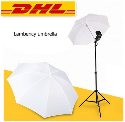 "33""/83cm Fotos Video Studio Flash Blitz Licht Regenschirm Translucent Weiß Yu"