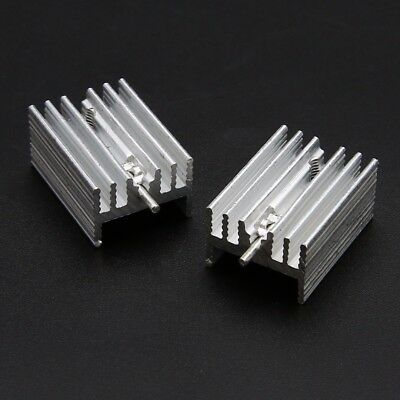 5pcs 20x15x11mm IC Aluminum Heat Sink With Needle For TO-220 Mosfet Transistors