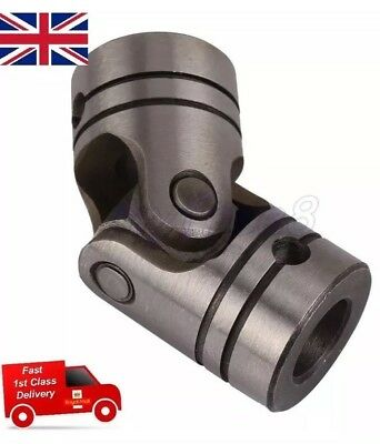12mm Dia Shaft Coupling Motor Connector DIY Steering Steel Universal Joint Elbow