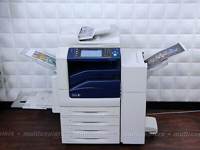 Xerox WorkCentre 7556 Color MFP Copier Printer Email Scan Fax iFax ~ 7535 7545