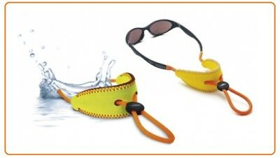 2 X Julbo Neoprene Floating Glasses Cord Neck Retainer Orange