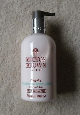Molton Brown Gingerlily Nourishing Body Lotion ~ 300Ml