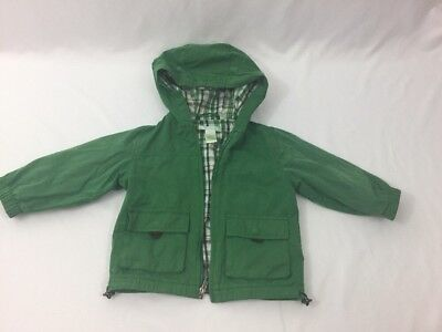 Janie And Jack Baby Boy Jacket Green Size 12-24 Months