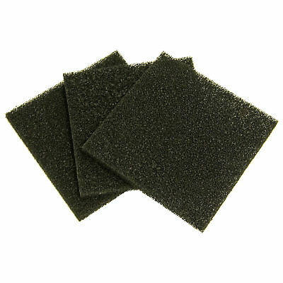 Pack of 3 Replacement Carbon Filters for Xytronic Fume Extractor Model ZD153