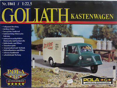 Pola 1861 Goliath Box-Type Three Wheeler G-Scale
