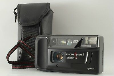 【Almost MINT】 Kyocera T Scope 2 Yashica T3 Super 35mm P & S Camera from JAPAN