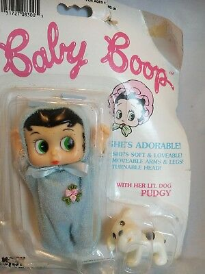 "Baby Boop (6"") & Pudgy Marty Toy Movable Arms, Legs & Head"