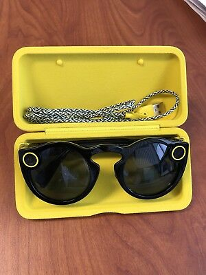 Snap Spectacles for Snapchat, Camera, Black - GREAT condition!