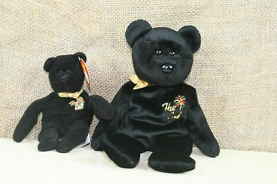 TY Beanie Baby The End The Bear With Mini The End Bear WITH TAGS