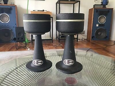Pair Vintage JBL LE85 Vintage Drivers with H91 Horns Speakers L200 Bracket