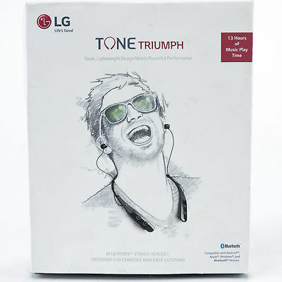 LG HBS-510.ACUSBKI Tone Triumph Wireless Stereo Headset Black