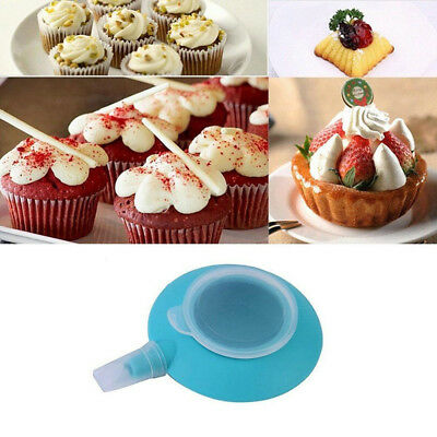 Cream Pot Cake 4 Nozzles Tips Pastry Tool Silicone Decorating Pen Press Baking