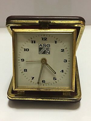 Orologio ASGEN, Sveglia da tavolo, made in West Germany, ASGEN clock alarm