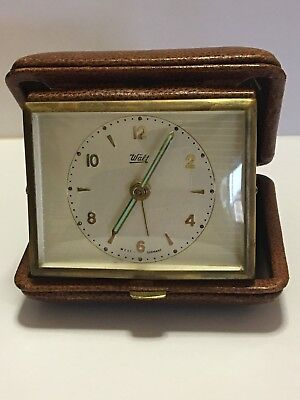 Orologio WALT, Sveglia da tavolo, made in West Germany, WALT clock alarm
