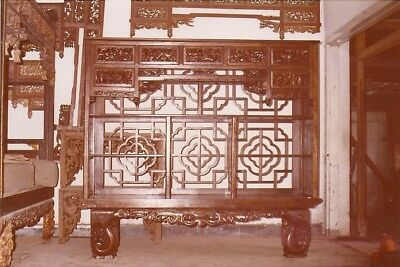 RARE Circa late 19th century Antique one-of-a-kind Chinese Wedding bed converted