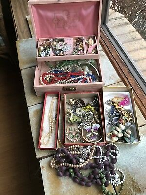 Large Lot of Vintage Jewelry