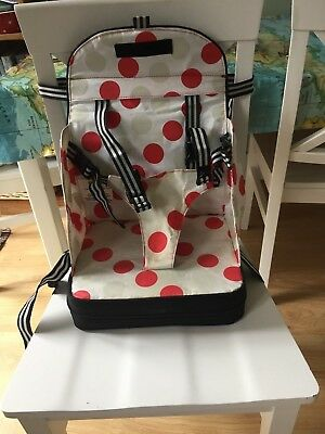 Baby Toddler Travel Booster Seat - 5 point harness