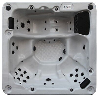 Thunder Bay 2 Pump Spa, 44 Jets, 5-6 Person Hot Tub - LEDs, Speakers, Waterfall
