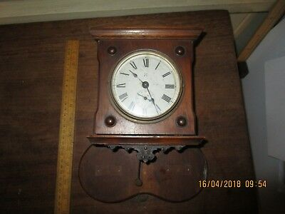 Antique Wurtemberg The' Thunder' Alarm clock with Crossed Arrow Trade mark