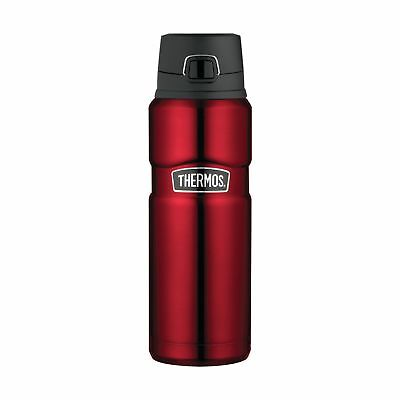 Thermos Stainless King 24 Ounce Drink Bottle, Cranberry