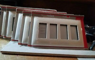 5X Pass & Seymour SWP264LABPCC10 Screw Less Wall Plate  by legrand LOT of 5