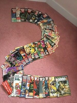 2000 AD Comics - Job Lot 20+ Comics - LOT 1