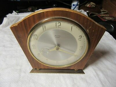 Vintage Bentima 8 Day Clock For Restoration Or Spare Parts