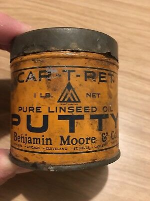 Antique Car-T-Ret Pure Linseed Oil Putty Benjamin Moore & Co
