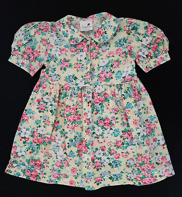 Vintage, Classic & Traditional Style 'ladybird' Dress - Size 2-3,  Exc Condition