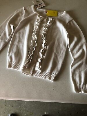 Childs White Sweater size 8